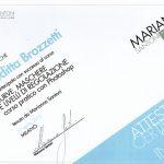 Certificato Partecipazione: Curve & Maschere