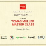 Certificato Partecipazione: Tomas Muller