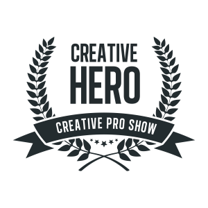 Creative Hero Badge